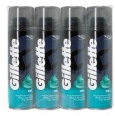Gillette Classic Gevoelige Huid - 4x200ml - Scheergel