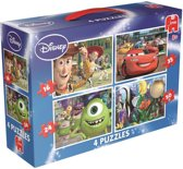Disney Pixar 4 puzzels in 1 Kinderpuzzel