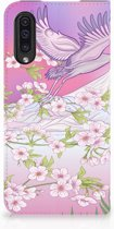 Samsung A50 Standcase Hoesje Bird Flying