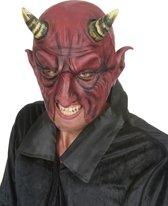 Duivel masker voor volwassenen Halloween - Verkleedmasker