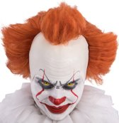 Horror clown pruik voor volwassenen - Verkleedpruik
