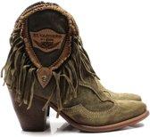 El Vaquero western boots Kaley - groen, ,38 / 5
