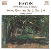 Haydn:String Quartets Op.3, 3-6