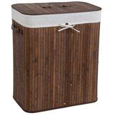 Bamboe wasmand incl. waszak 100L bruin 401833