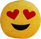 MikaMax- Emoji kussens Original - Heart Eyes
