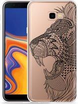 Galaxy J4 Plus Hoesje Leeuw Mandala