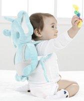 Ofille® valrugzakje olifant - Hoofdbescherming voor baby's en peuters - Kinder veiligheid - Veiligheidsset baby - Hoofdbeschermer - Veiligheidskussen - Rugzak kussen - Baby kussen - Rugzakje tegen vallen - Val bescherming - Looptrainer - Kraamcadeau