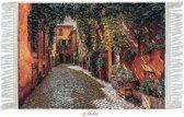 Mobiz textiel - Wollen 'Tablo Farsh' - Tapijtschilderij - 50x70 cm