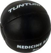 Tunturi Medicine Bal - 3 kg - Zwart