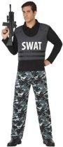 Politie SWAT verkleed pak/kostuum voor volwassenen XL