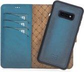 Bouletta Afneembare 2-in-1 Magneet Leren BookCase Hoesje Samsung Galaxy S10E - Dark Blue