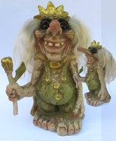 NyForm Trollen: Troll King, Hoogte 33cm
