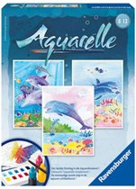 Ravensburger Aquarelleren Schilderset - Dolfijnen