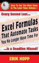 Excel Formulas That Automate Tasks You No Longer Have Time For