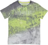 Losan Jongens Shirt Grijs met print - Maat 128