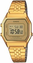 Casio Collection LA680WEGA-9ER Horloge - Staal - Goudkleurig - Ø 30 mm