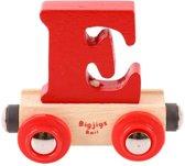 Bigjigs - Rails - Naamtrein - Letter E