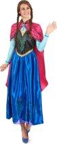 Disney Frozen Jurk - Prinses Anna - Volwassenen - Verkleedkleding - Maat L