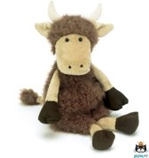 Jellycat Tiggalope Highland Cow