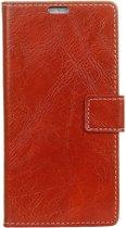 Mobigear Retro Luxe Wallet Hoesje Rood LG V40 ThinQ