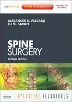 Operative Techniques: Spine Surgery - E-Book