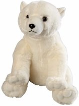 Pluche ijsbeer knuffel 30 cm - knuffeldier