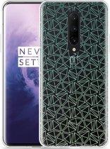 OnePlus 7 Pro Hoesje Triangles
