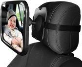 Babyspiegel Auto [25x15 cm] - Autospiegel Baby - Spiegel achterbank