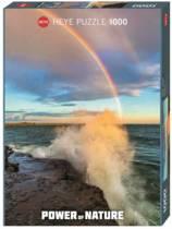 Heye Regenboog op zee - 1000 stukjes