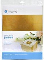 Printable Gold Foil (Silhouette Cameo of Curio)
