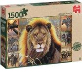 African Beauty - Puzzel- 1500 stukjes