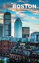 Boston Weekly Planner 2017