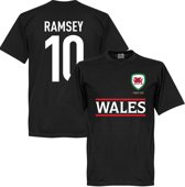 Wales Ramsey Team T-Shirt - L