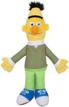 Gele pluche Bert Sesamstraat knuffel/pop 38 cm