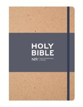 NIV Tan Single-Column Journalling Bible