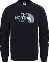 The North Face Drew Peak Crew Eu Trui Heren - Tnf Black