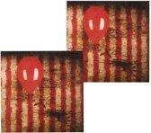 Halloween Servetten Horror Clown 12 stuks