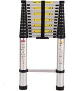 AL ladder Telescopische ladder 5meter - 14 treeds - Werkhoogte 5m