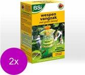 Bsi Wespen Vangzak Met Lokmiddel - Insectenbestrijding - 2 x per stuk