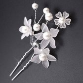 Hairpins - Eye Catcher Flowers & Pearls - 2 Stuks