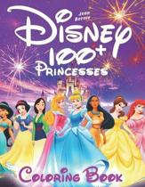 100+ Disney princesses coloring book (illustrated): Princesses coloring book. 103 illustrations. Coloring book for girls, Disney coloring book. 2019 e