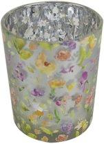 Waxinelichthouder Bloemen (8 x 7 cm)