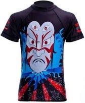 Nihon Thermoshirt Rashguard Mask Heren Donkerblauw Maat Xl