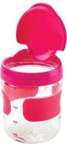OXO tot Groot Flip-Top Snackdoosje Pink