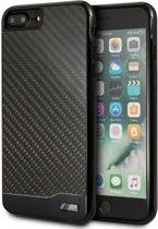 iPhone 8 Plus/7 Plus/6s Plus/6 Plus hoesje - BMW - Zwart - Carbon