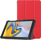 3-Vouw sleepcover hoes - Samsung Galaxy Tab A 8.0 inch (2019) - Rood
