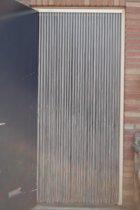 Sun-Arts deurgordijn - palermo transparant grijs - 90 x 210 cm