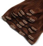 Clip In Hair Extensions BIGSET  auburn 260Gram 60cm 100%human hairextensions