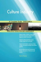 Culture Industry A Complete Guide - 2020 Edition