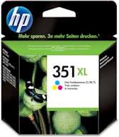 HP 351XL - Inktcartridge / Cyaan / Magenta / Geel
